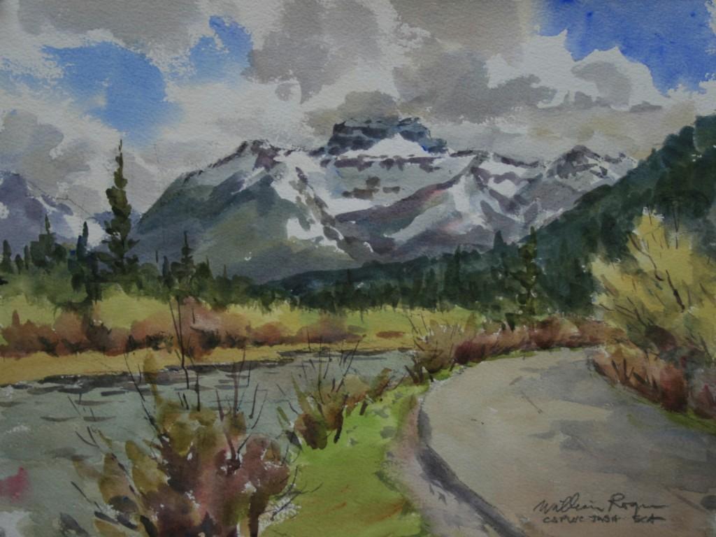 Emerald Lake Drive, Banff