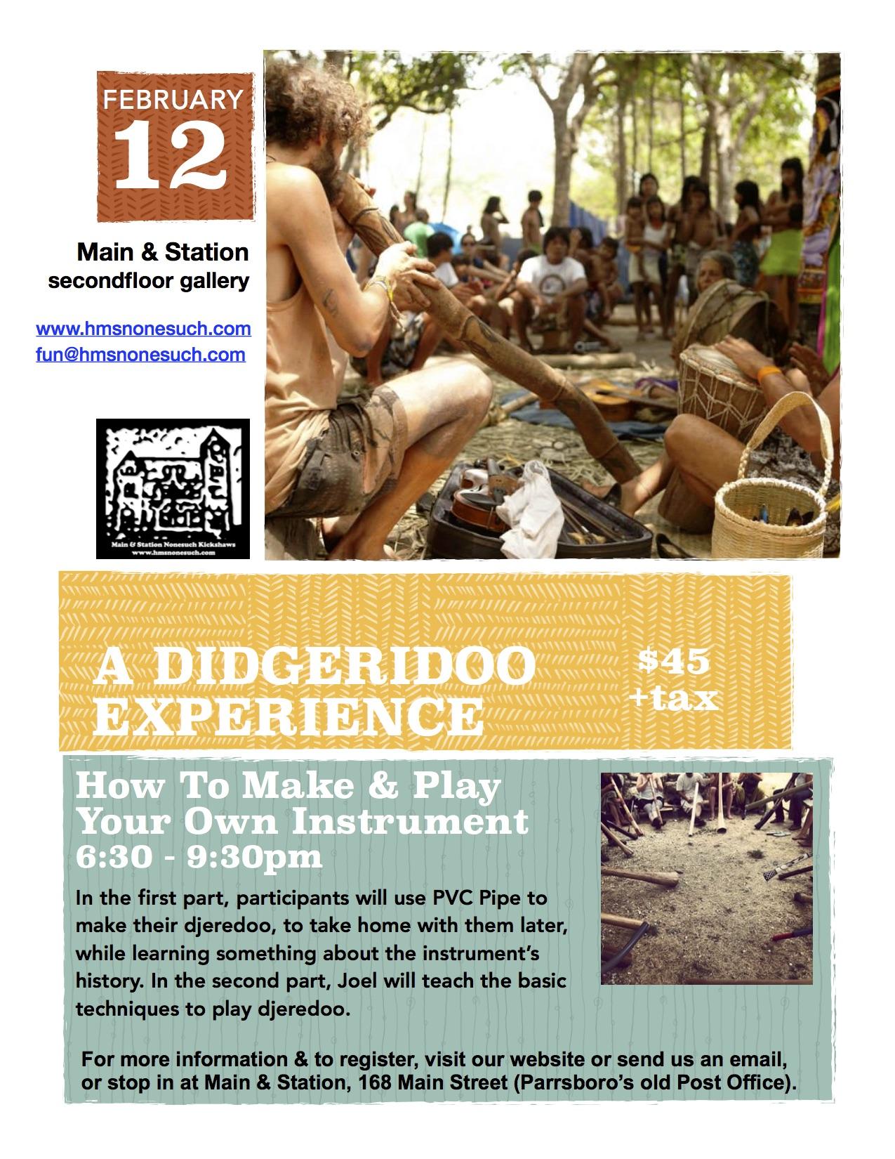 A Didgeridoo Experience