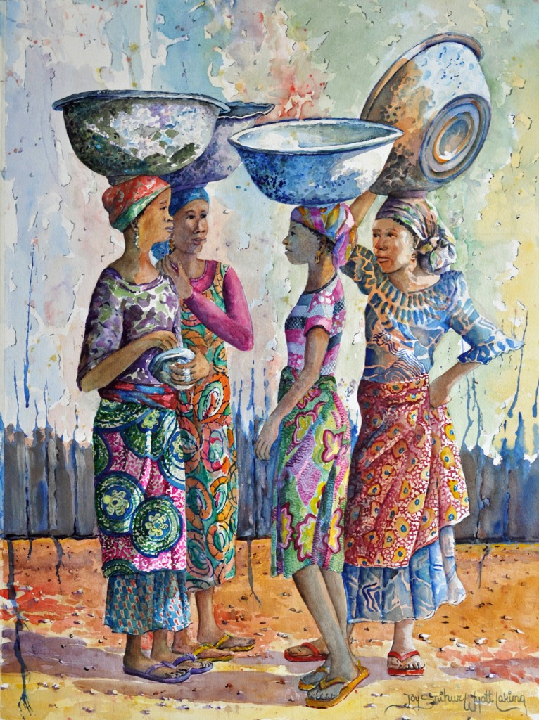 Four Girls and Bowls        Joy Snihur Wyatt Laking