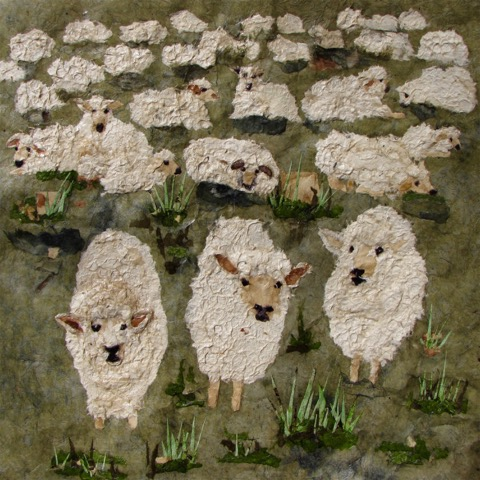 I know my sheep, and they know me                  Antje Martens-Oberwellend