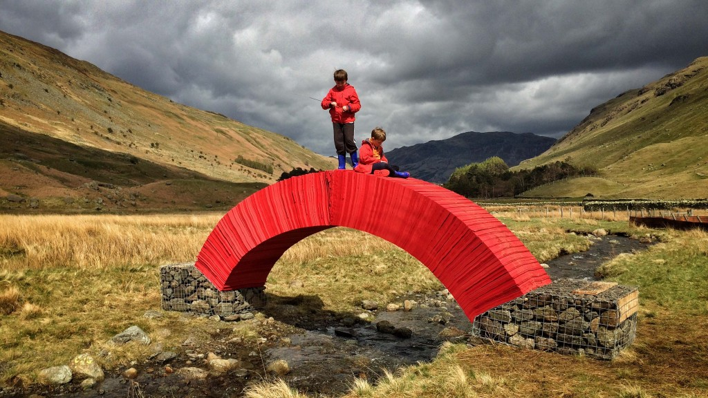 PaperBridge     Steve Messam