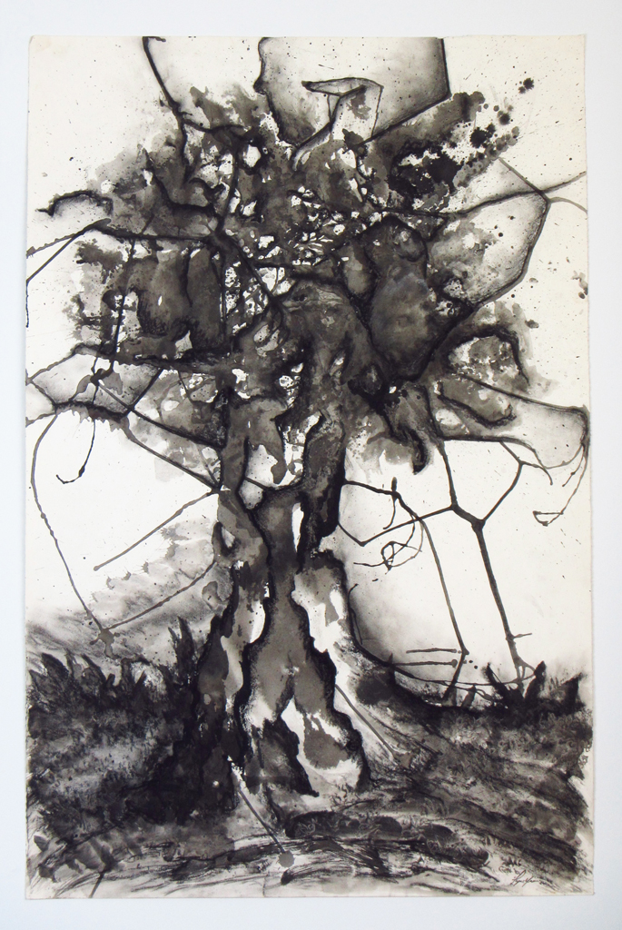 Stricken (L'arbre foudroyé)      Lyne Noiseux