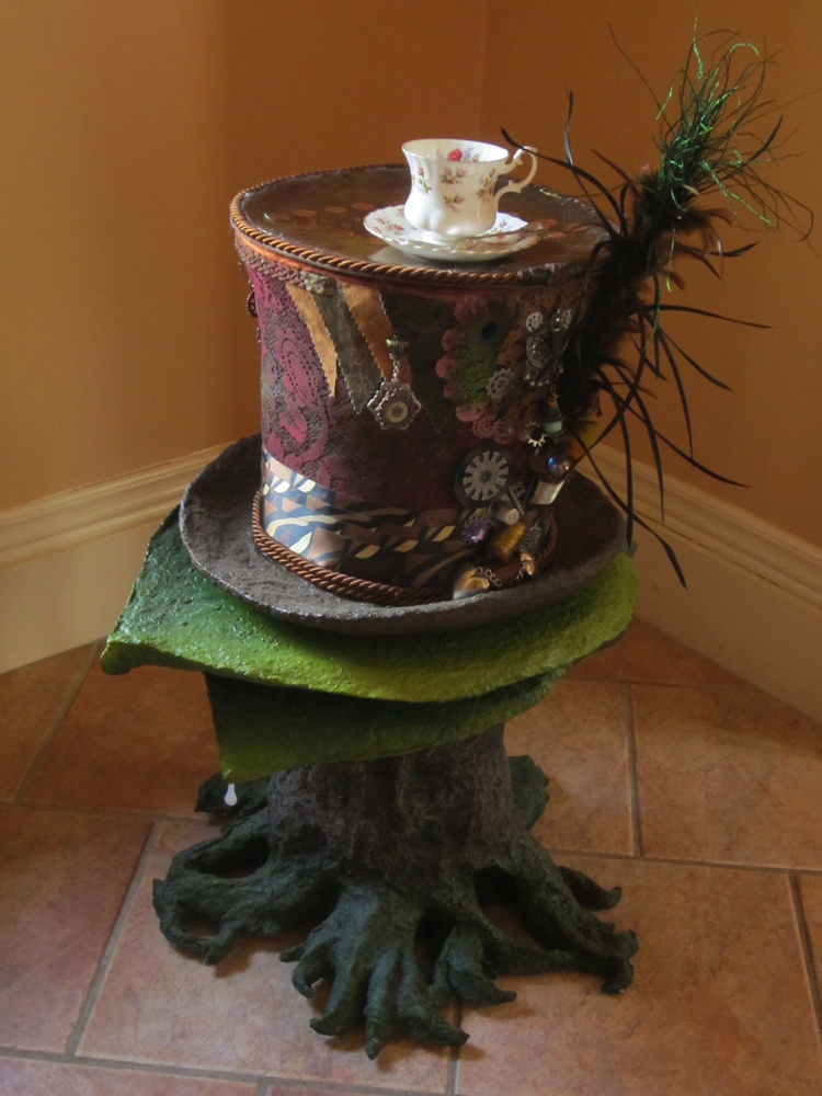 Mad Hatter's Tea Table     Lori V. St. Clair