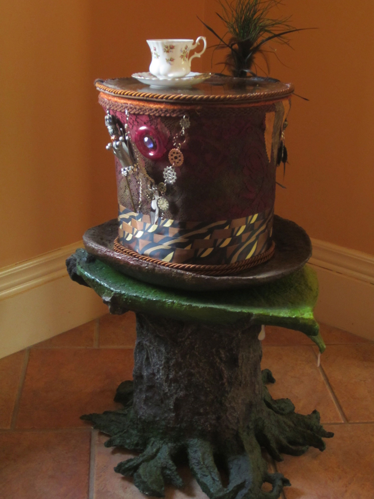 Mad Hatter's Tea Table (left side detail)