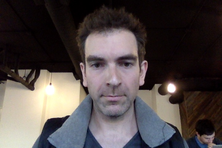 Alex Ness _ Leap Second SelfieTaken at Algorithm Coffee Co. in Berkeley CA