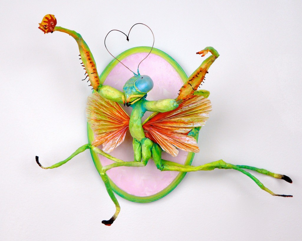 PRAYING MANTIS IN LOVE  Kalleen Chilcote