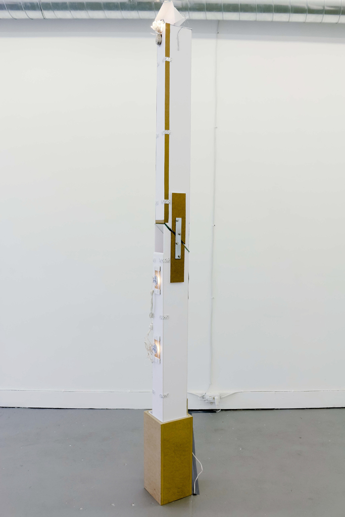 UNTITLED (DOUBLE TOWER)  (Detail)  Erika Dueck