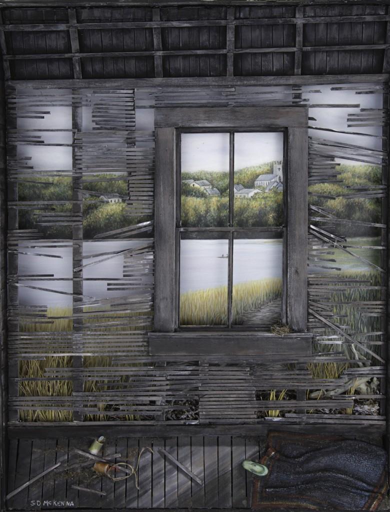 WINDOW TO MY WORLD  Sharon McKenna