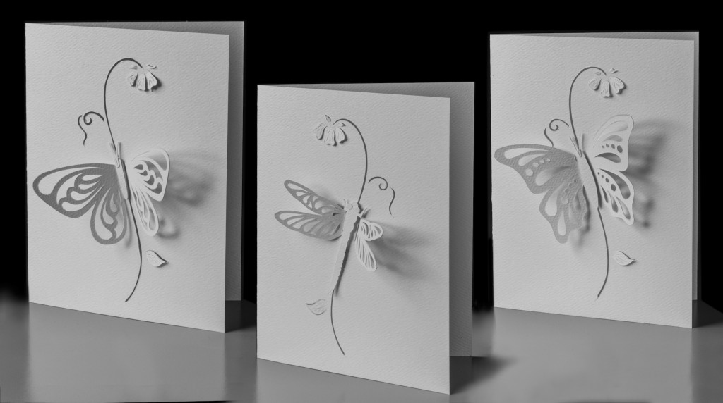 WINGED INSECTS CARD SET