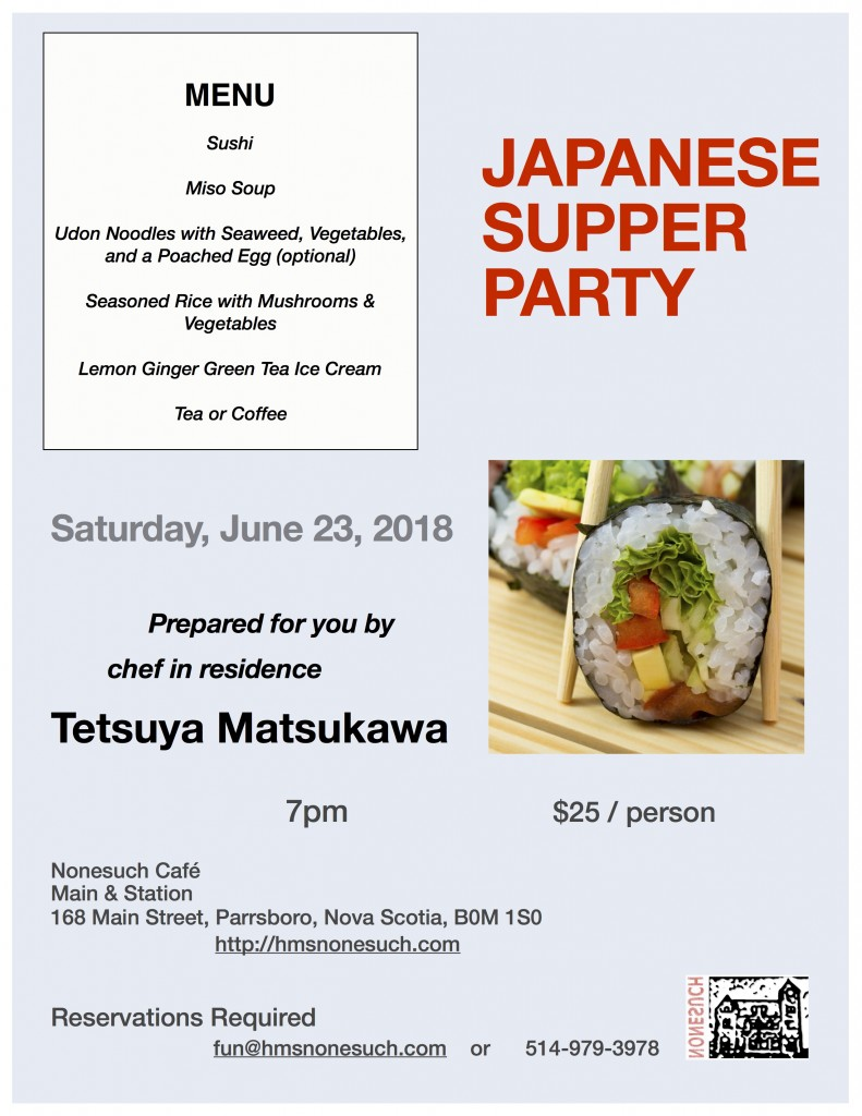 Japanese Supper Party_23_june_poster
